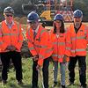 An image relating to Turf-cutting ceremony marks start of work at new Manea station car park